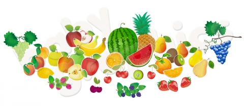 gyümölcsös falimatrica