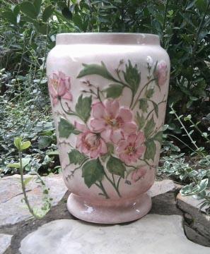 Ntakeramia - Vadrózsás váza, Meska