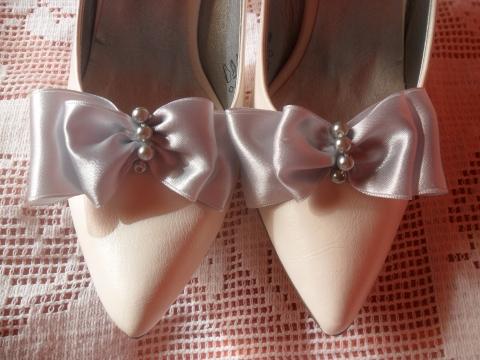 Nagymarti ezüst masni cipőklipsze a Meskán