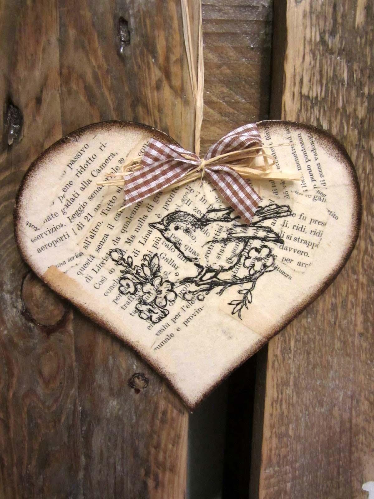 Szinharmonia - Madárkás szívek csomag, Meska