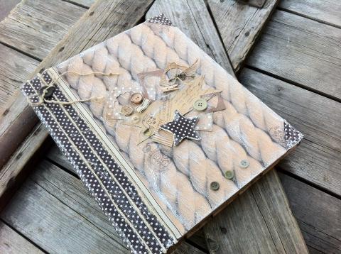 NoaNoa - Egyedi kapcsos lefűző mappa, Meska
