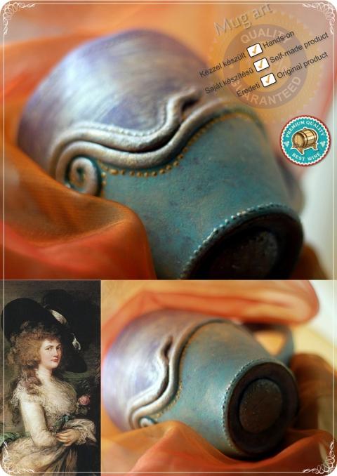 Apropo - Vintage-Baroque-Rococo stílusú exkluzív bögre, Meska