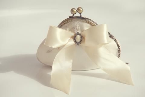 Rosiedecor - Menyasszonyi retikül, Meska
