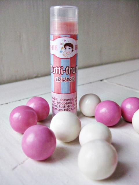Sophiebello -  Tutti Frutti rágógumi ízű ajakápoló, Meska