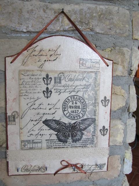 Epepa - Vintage hangulatú fali akasztó, Meska