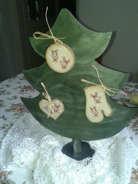 Misziszlipton - Öko karácsonyfa, Meska