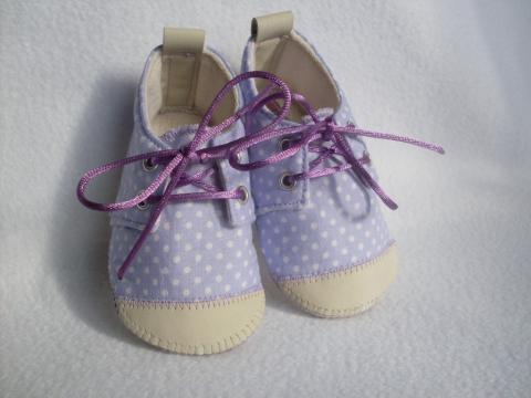 Pampalini tavaszi baba textilcipője a Meskán
