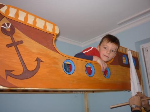 Gekko hajós dísze gyerekágyra
