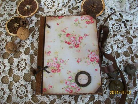Vmorsy - Rózsás receptfüzet, Meska
