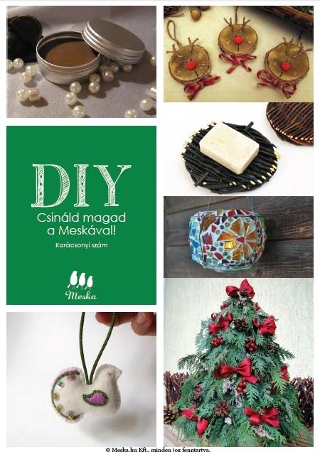 DIY Csináld magad a Meskával Karácsonyi szám