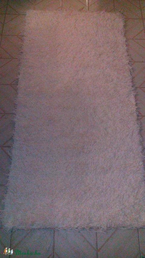 Nyers fehér szőnyeg (szonyeg) - Meska.hu