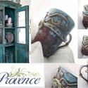"""""""St. Tropez"""" - France-PROVENCE! Vintage rustic., Képzőművészet , Konyhafelszerelés, """"St. Tropez""""  PROVENCE -Home stílus*  *** Provence Design *** (Exkluzív darab)  Valóban egyedi, megi..., Meska"""