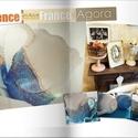 Blue bird II.rész - PROVENCE! Vintage rustic., Képzőművészet , Konyhafelszerelés, - Blue bird II.rész - PROVENCE - Home stílus  *** Baroque/Vinatge Design ***  Valóban egyedi, megism..., Meska