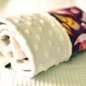 Tavaszt várva babatakaró, Baba-mama-gyerek, Baba-mama kellék, Gyerekszoba, Falvédő, takaró, Varrás, Vasarlaskor a kis takaróra 15% árengedményt adok!  Biópamutól és minky plüssből készült a képen lát..., Meska