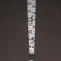 Violetta kulcstartó, Baba-mama-gyerek, Mindenmás, Ruha, divat, cipő, Varrás, Nyakba akasztható kulcstartó teljes hossza 59 cm. , Meska
