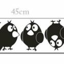 Faltetoválás , falmatrica szett Madárkás (4db madár) , Dekoráció, Baba-mama-gyerek, Falmatrica, Gyerekszoba, Fotó, grafika, rajz, illusztráció, Madárka falmatrica szett (4db madár)  Az ár a képen látható falmatrica szettet (4 db madár) tartalm..., Meska