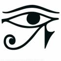 Faltetoválás , falmatrica Hórusz szeme, Otthon, lakberendezés, Dekoráció, Falmatrica, Fotó, grafika, rajz, illusztráció, Hórusz szeme faltetoválás matrica   Az ár a képen látható falmatricát tartalmazza 70x54 cm méretben..., Meska