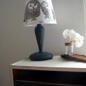 Asztali lámpa , Bútor, Otthon, lakberendezés, Baba-mama-gyerek, Lámpa, Festett tárgyak, Mindenmás, Ez az asztali lámpa egy unalmas darab volt. Az ernyője is hiányzott, ezért némi festékkel, viasszal..., Meska