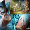 """""""Égigérő fa varázsa"""". Exkluzív művészet és végtelen  fantázia!, Képzőművészet , Konyhafelszerelés, Dekoráció, Ünnepi dekoráció, (mesebögre kollekció) """"Égig-érő fa varázsa""""  Lépjen túl a tárgyak kínált hagyományos megszokott pers..., Meska"""