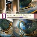 Egyedi, művészi festésű Marie-Antoinette II. , Képzőművészet , Konyhafelszerelés, Dekoráció, Ünnepi dekoráció, *Marie-Antoinette II.*  *** Baroque Star Fashion *** (Exkluzív kollekció) Egyetlen ilyen darab van! ..., Meska
