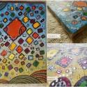 Fish game - (nonfiguratív gyermek-festmény), Dekoráció, Képzőművészet , Otthon, lakberendezés, Festmény, *** Paint art - 2012 *** KÜLÖNLEGES MŰVÉSZI ALKOTÁS* Magán gyűjteményemből*  Igazi egyedi és művészi..., Meska