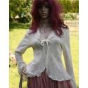 Gyapjús-csipke luxus-kabátka L-XL, Ruha, divat, cipő, Esküvő, Női ruha, Blúz, Varrás, Olasz designer csipkéből készítettem ezt a romantikus kabátkát. Akár alternatív menyasszonyi ruhám f..., Meska