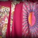 NAPOCSKA maxi szoknya (bíboros-narancsos, saját övvel), Ruha, divat, cipő, Női ruha, Szoknya, Varrás, Tavasztól kora őszig hordható, bíborszínű, érdekes felületű jerseyből készült maxi szoknya. Elején,..., Meska