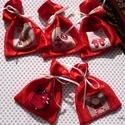 5 darabos mini mikulás zsák csomag, Dekoráció, Karácsonyi, adventi apróságok, Ajándékzsák, Karácsonyi dekoráció, Varrás, A 10000 Ft feletti ingyen postázás nem vonatkozik minden termékre!!! Kérlek olvasd el ezzel kapcsol..., Meska