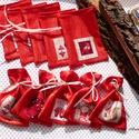 10 darabos mini mikulás zsák csomag, Dekoráció, Karácsonyi, adventi apróságok, Ünnepi dekoráció, Ajándékzsák, Karácsonyi dekoráció, Varrás, A 10000 Ft feletti ingyen postázás nem vonatkozik minden termékre!!! Kérlek olvasd el ezzel kapcsol..., Meska