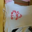 Kézzel festett polok, Ruha, divat, cipő, Női ruha, Kismamaruha, Felsőrész, póló, Festészet, Mindenmás, Kedves látogató!  Ezeket a pólókat kézzel festettem, textil festékkel és fixálva vannak moshatok 40..., Meska