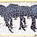 Beatles mozaik, Dekoráció, Képzőművészet , Otthon, lakberendezés, Falikép, , Meska