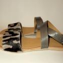 """""""LeOparD """"szandál H MadeS H O E  (36-os), Ruha, divat, cipő, Cipő, papucs, Bőrművesség, Varrás, Egyedi tervezésű és kivitelezésű cipők, minden modell, az éppen aktuális anyagok által születnek, m..., Meska"""