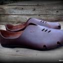 u n i s e x  H MadeS H O E  (39), Ruha, divat, cipő, Cipő, papucs, Bőrművesség, Varrás, Egyedi tervezésű és kivitelezésű cipők, minden modell, az éppen aktuális anyagok által születnek, m..., Meska