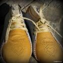 """""""GolD"""" cipő női :), Ruha, divat, cipő, Cipő, papucs, Bőrművesség, Varrás,  Saját tervezés, szempont a zártsága és a kényelmes használat volt.  Teljesen tökéletes kényelmes v..., Meska"""