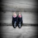"""""""OxforD"""" cipő női :), Ruha, divat, cipő, Cipő, papucs, Bőrművesség, Varrás, fekete Lakkbőrből készült  oxford stílusú cipellő ...stílusos v ünnepi v hétköznapi ...  Anyaga: la..., Meska"""