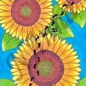világgá, Dekoráció, Otthon, lakberendezés, Kép, Falikép, Világon át virágra ment, és virágon át világgá ment. És itt hagyta a nyomait :)  Itt az ősz, jön a t..., Meska