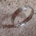Férfi ezüst karika  gyűrű, Férfiaknak, Ékszer, óra, Gyűrű, Ötvös, Ékszerkészítés, Ezüst gyűrű mérete 71es,súlya4,5gr.szélessége 4.7mm.925ös ezüstből készült,fémjellel ellátva.Belül ..., Meska