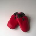 Babacipő, Baba-mama-gyerek, Ruha, divat, cipő, Gyerekruha, Baba (0-1év), Bőrművesség, Pihe-puha bőr babacipő. A tiszta bőr cipő, egyaránt használható kocsicipőként illetve beltéri cipők..., Meska