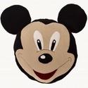 Mickey párna, Baba-mama-gyerek, Otthon, lakberendezés, Lakástextil, Párna, Varrás, Mérete: 37cm x 37cm Anyaga: polár,flíz béléssel,töltő vatta töméssel  Mosógépben 40?C-on mosható! , Meska