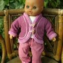 Nagy babaruha csomag 31-35cm magas babára., Játék, Baba-mama-gyerek, Ruha, divat, cipő, Baba, babaház, Varrás, Egyedi tervezésű és modellezésű játékbaba ruhák.  Hagyományos alkatú 31-35 cm teljes magasságú játé..., Meska