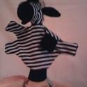 zebra, Baba-mama-gyerek, Baba-és bábkészítés, Népi játék és hangszerkészítés, plüssből készül 3 éves kortól ajánlott, Meska