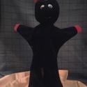 Ördög, Játék, Báb, Baba-és bábkészítés, Népi játék és hangszerkészítés, plüssből készül 3 éves kortól ajánlott, Meska