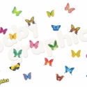 Pillangók áthelyezhető falmatrica szett, Baba-mama-gyerek, Dekoráció, Gyerekszoba, Falmatrica, Fotó, grafika, rajz, illusztráció, A nyári napsütés melegére bukkantak fel ezek a pompás színekben játszó pillangók. Egészítsd ki a gye..., Meska