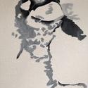 Inside and Out , Képzőművészet, Festmény, Akril, Festészet, Feszített vászonra készült akril festmény 24,5x30cm-es méretben. , Meska