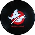 Bakelit ra Szellemrtk - Ghostbusters - MarNemSoul Collection, Dekorci, Otthon, lakberendezs, Frfiaknak, Falira, Festszet, jrahasznostott alapanyagbl kszlt termkek, Rgi, nem hasznlatos bakelitlemezbl ksztettem. A festmny rajta street art stlus, stencil-tech..., Meska