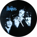 Bakelit ra Beatles - MarNemSoul Collection, Dekorci, Otthon, lakberendezs, Frfiaknak, Falira, Festszet, jrahasznostott alapanyagbl kszlt termkek, Rgi, nem hasznlatos bakelitlemezbl ksztettem. A festmny rajta street art stlus, stencil-tech..., Meska