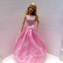 Barbie ruha /Rózsaszirom, Játék, Ruha, divat, cipő, Baba, babaház, , Meska
