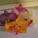 phalaenosis (lepke) orchidea virág , Dekoráció, Otthon, lakberendezés, Dísz, , Meska