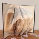 LOVE szerelem könyv , Esküvő, Dekoráció, Nászajándék, Esküvői dekoráció, , Meska