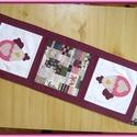 Tavaszi - húsvéti asztali futó, terítő, Otthon, lakberendezés, Dekoráció, Lakástextil, Terítő, Varrás, Egyedi, saját ihletésű tavaszi- nyári terítő.    Gyönyörű patchwork mintás pamutvászonból készült a..., Meska
